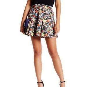 Alice + Olivia Parson Short Lampshade Mini Skirt